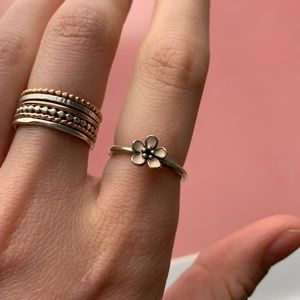 Pandora Cherry Blossom Ring ✨